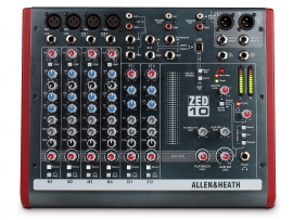 Микшерный пульт ALLEN&HEATH ZED10FX с процессором эффектов