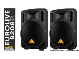 Behringer B208D EUROLIVE акустическая колонка 200 Ватт - 2 шт в комплекте